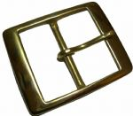 "50mm (2"") Solid Brass Belt Buckle. Code BUC008"